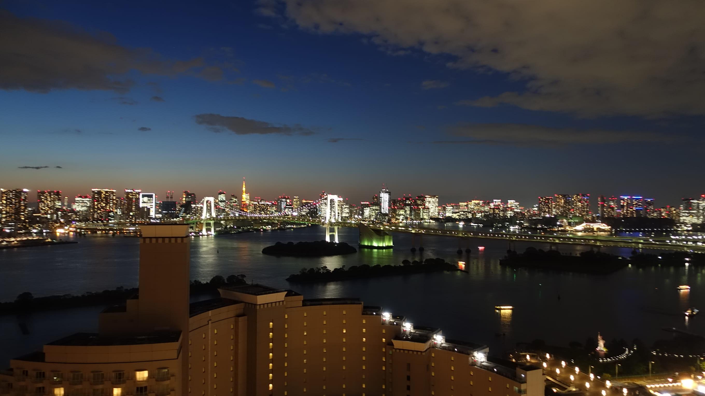 グランドニッコー東京台場のクラブフロア宿泊ログ!素敵な展望と豪華な朝食も