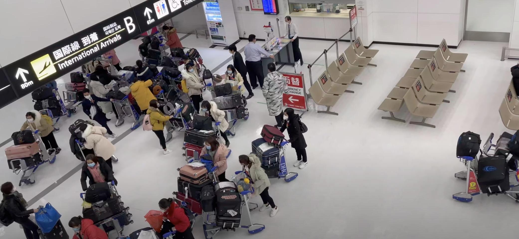 これでいいのか入国制限!国際線到着が一番混んでいる成田空港のようす