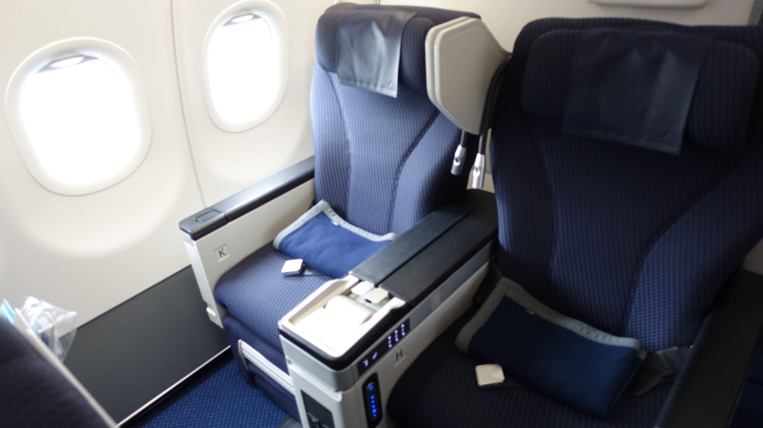 国際線A320ビジネスクラスシートでプレミアムクラスを愉しむ